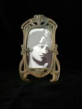 BEAUTIFUL RARE ORIGINAL ART NOUVEAU ,JUGENDSTIL,  METAL PHOTO FRAME