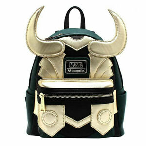 The Avengers Marvel Loki Backpack School Shoulder Bag Classical Cosplay Bag Gift