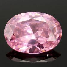 UNHEATED 31.10CT PINK SAPPHIRE 15X20MM DIAMOND EMERALD Oval CUT+ LOOSE GEMSTONES