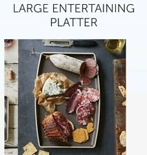 Pampered Chef Large Entertaining Platter (Graystone) 1452 (NEW)