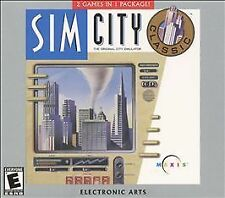 SimCity Classic/SimFarm (Windows/Mac, 2001) NEW