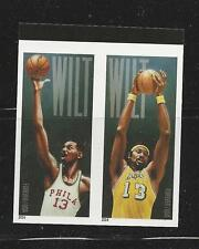 2014 #4950-4951 Wilt Chamberlain Pair Imperf without die cuts