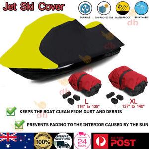UV Resist Waterproof Jet Ski Boat Cover Wave Runner Seadoo Protections 2.9m-3.5m