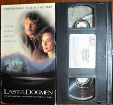 LAST OF THE DOGMEN (vhs) Tom Berenger, Barbara Hershey. VG Cond. Rare. Western