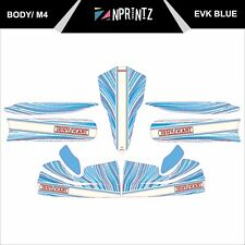 M4 EVK 2013 BLUE KART STICKER KIT - KARTING - OTK - EVK-CADET-ROOKIE