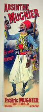 Lucien Lefevre: Absinthe Mugnier - Lithography Original, Signed 1898