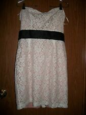 NWT WOMENS FOREVER 21 DRESS SIZE LARGE TUBE LACE
