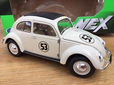 WELLY Code 3 18040HB VW VOLKSWAGEN BEETLE diecast model road car Herbie 53 1:18