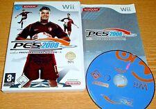 * pes 2008 * Deutsches juego & completo-Wii Nintendo Wii juego