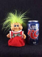 """Lucky Christmas Troll  Troll Doll  5""""   """"DR.SPOCK EARS""""   1991"""