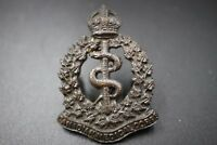 WWI Canadian Medical corps Cap Collar badge (CAMC)