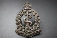 WWI Canadian Medical corps Cap Collar badge (CAMC)