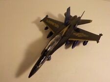 Blue Angels US Navy Diecast Plane Airplane 9 in Pull Back Toy Fighter Jet F-18