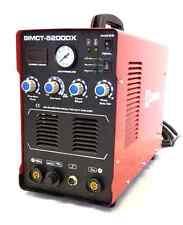 Simadre Plasma Cutter 5200DX 50Amp / 200Amp Tig Arc Mma Welder 110/220V