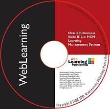 Oracle EBS R12.x: HCM/HRMS guía de capacitación de administración de aprendizaje y rendimiento