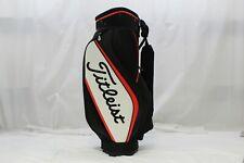 "New Titleist Tour Mini Staff Golf Bag 9"" Top White Black Red Staff Golf Bag"