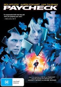 PAYCHECK (2003) [NEW DVD]