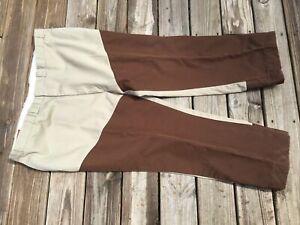 STAFFORD'S Mens 50 X 29 Tan Hunting Pants Brush Field