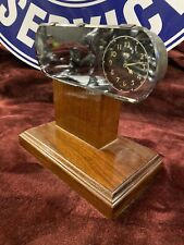 1935-1936  Ford Clock Rear View Mirror