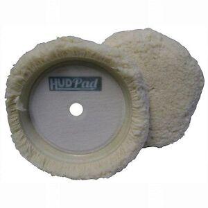 """Buffing Pad Wool 8"""" Diameter Cutting Pad Hook and Loop Sold Ea"""