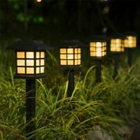 Solar Garden Lawn Lamp Outdoor Yard Pathway Patio Fence LED Light Landscape