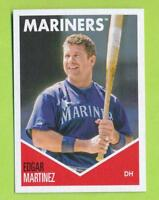 2018 Topps 582 Montgomery - Edgar Martinez (#23)  Seattle Mariners