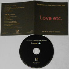Dub Mentor Karni Postel Geva Alon  Love Etc  U.S. promo cd