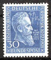 Bund 147 sauber postfrisch Wilhelm Röntgen BRD 1951 Michel 80,00 Euro MNH