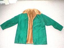 FUR LINED (interior) Custom Woman's Coat: William WM.H.HARRIS, RI