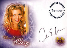 BUFFY- Women of Sunnydale Trading Card A-5 - Signed by Clare Kramer