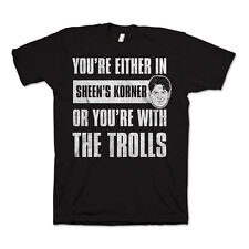 Charlie Sheen-troll t-shirt XL NUOVO