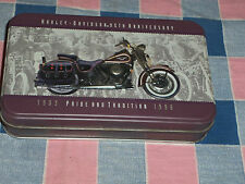 Harley-Davidson Playing Cards Tin 95th Anniversary 1903-1998 Pride Tradition