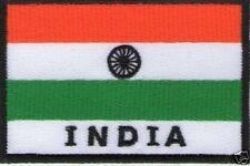 écusson ECUSSON BRODE PATCHE PATCH THERMOCOLLANT DRAPEAU INDE INDIA 7 X 5 CM