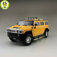 1/18 Greenlight Hummer H2 Highway 61 Diecast Model Car SUV Toys Boys Gift Yellow