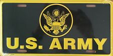 U.S. Army Premium Embossed License Plate (LP-1109-144)