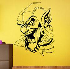 Wall Decal Green Goblin Comics Hero Vinyl Sticker Kids Room Home Art Decor 10ggb