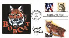 "2012 1c Bobcat - ""Bobcat - Lynx rufus"" EmPrint Cachet - Using Award Winning Art"