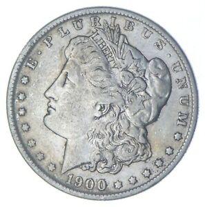 W@W Early 1900-O Morgan Silver Dollar - 90% US Coin - Nice Coin *840