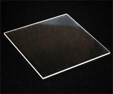 Clear Acrylic Plexiglass sheet 1/4 x 12 x 24 FREE SHIPPING