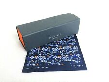 Ted Baker Navy Blue Sunglasses Glasses Case & Lens Cleaning Cloth