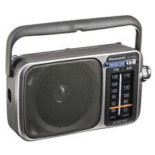 Panasonic Rf-2400D Portable Fm/Am Radio with Afc Tuner Silver