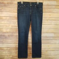 Citizens of Humanity Jeans Ava Low Rise Straight Leg Dark Wash