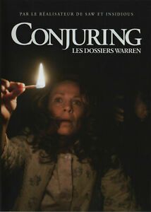 DVD - CONJURING > LES DOSSIERS WARREN / VERA FARMIGA, PATRICK WILSON, WARNER