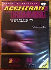 Essential Elements Accelerate Your Drumming (Dvd and booklet)