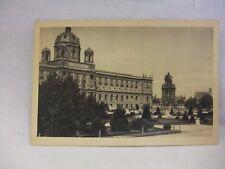 Vintage Wien, Museum, Maria Theresia Denkmal Postcard