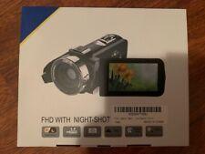 Video Camera Camcorder Wifi Ir Night Vision Fhd 1080P 16X Digital Zoom
