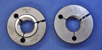 1-3/8 x 6 NC ~ Thread Ring Gage ~ Go No/Go  ~ 1.375 ~ 6 TPI ~ Greenfield