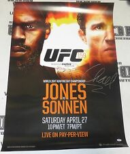 Chael Sonnen Signed Official UFC 159 Poster PSA/DNA COA vs Jon Jones Autograph