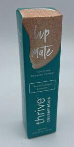 Thrive Causemetics Lip Mate GLINDA Rose Gold Shimmer High-Shine Reviving Topper