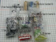 Electronic Gift pack Resistor ,capacitor ,transistor, diode ,led Assortment Kit